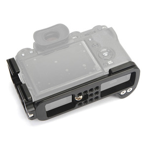Image 2 - Dikey ateş el tutamak kurulu X T3 L şekli hızlı bırakma plakası Tripod monopod braketi Fuji Fujifilm XT3 X T3 XT 3