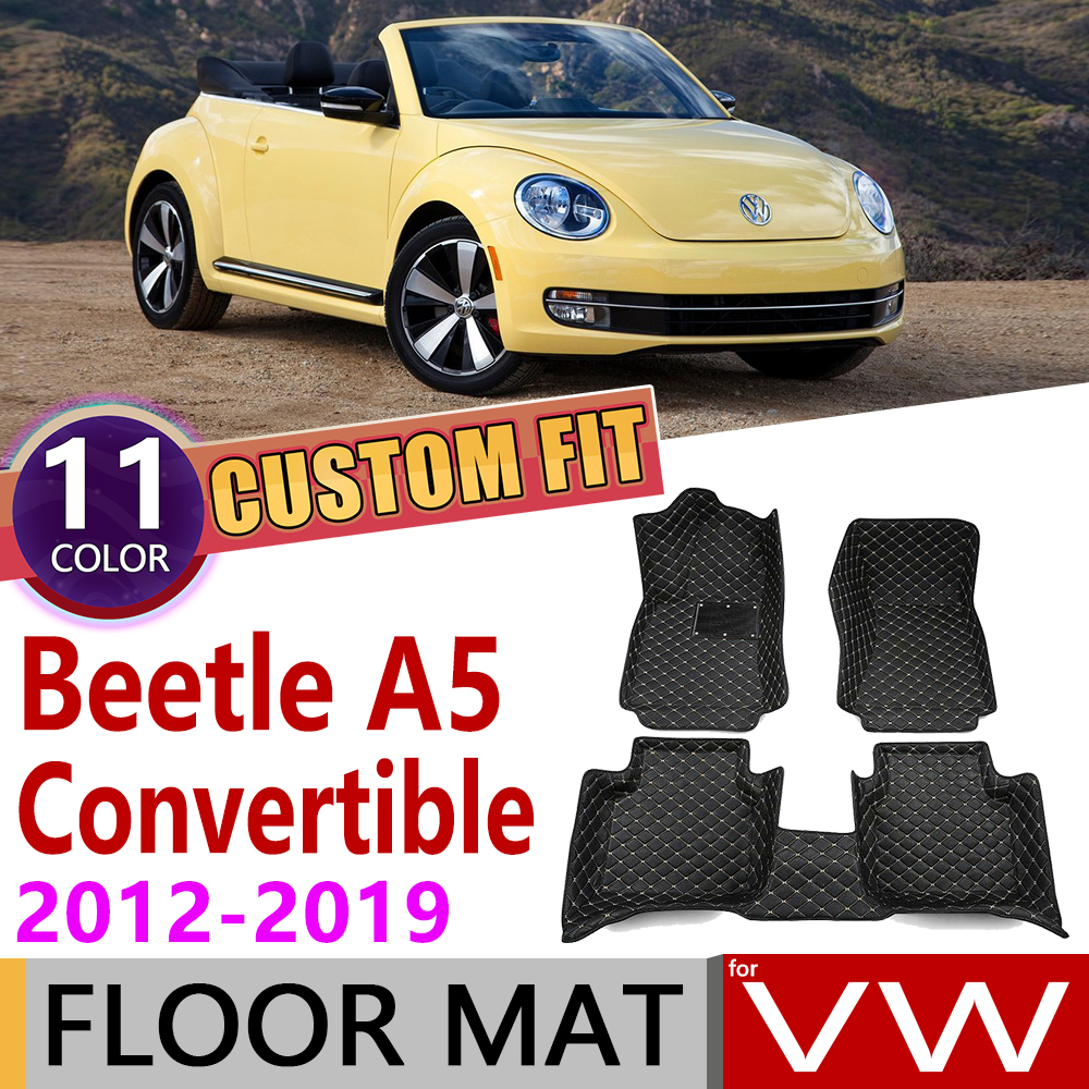 CARPET MATS WITH PICTURE TO FIT CLASSIC BEETLE