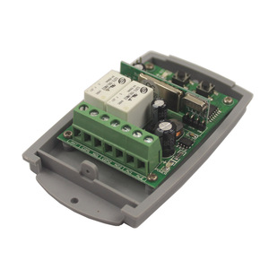 Image 4 - 12 V 48 V 24V 2 チャンネルゲートガレージドアリモートコントロールスイッチ受信機固定コードとローリングコード受信機スイッチ 433 MHz/315 MHz
