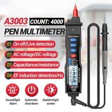 ANENG A3003 multimetro digitale a penna professionale 4000 conta Smart Meter con tester di capacità di resistenza di tensione ca/cc NCV
