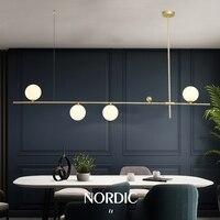 Nordic Bean Pendant Lighting Modern Dinning Room Ball Pendant Lamp Art Decor Kitchen FIxture Creative Hanging Chandelier
