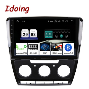 """Image 1 - Idoing 10.2""""Android For SkodaOctavia 2 A5 2008 2013 Car Radio Multimedia Video Player Navigation GPS Accessories Sedan No dvd"""