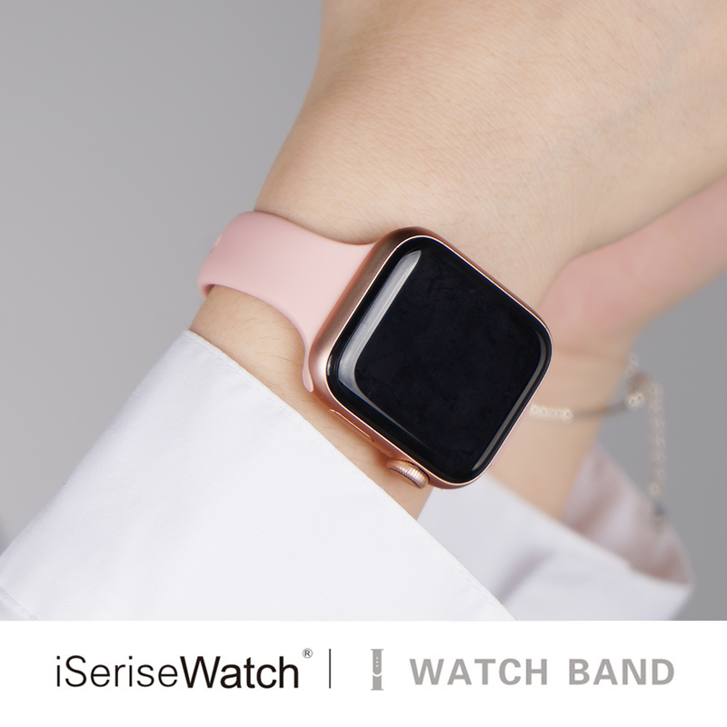 Strap For Apple Watch 4 Band 44mm 40mm IWatch Band 38mm 42mm Sports Silicone Bracelet Watchband For Correa Apple Watch 3/2/1