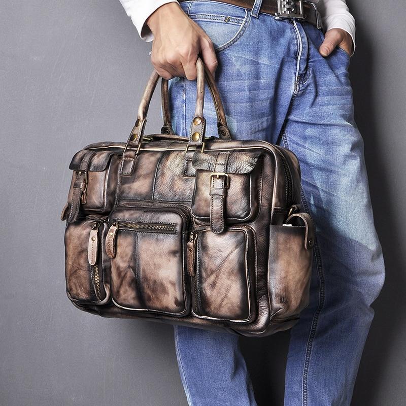 H8b83bf008e01463184c33a96f1c6ac16z Original leather Men Fashion Handbag Business Briefcase Commercia Document Laptop Case Design Male Attache Portfolio Bag 3061-bu