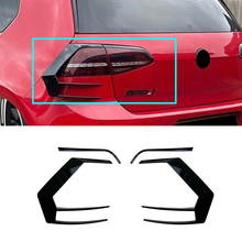 Wind-Knife Piano Golf Volkswagen Black Rear Taillight Exterior MK7 Modification Suitable-For