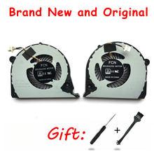 Novo original cpu gpu ventilador de refrigeração para dell inspiron g7 15-7000 7577 7588 G5-5587 p72f ventilador refrigerador 2jjcp fjqs dc5v 0.5a fjqt