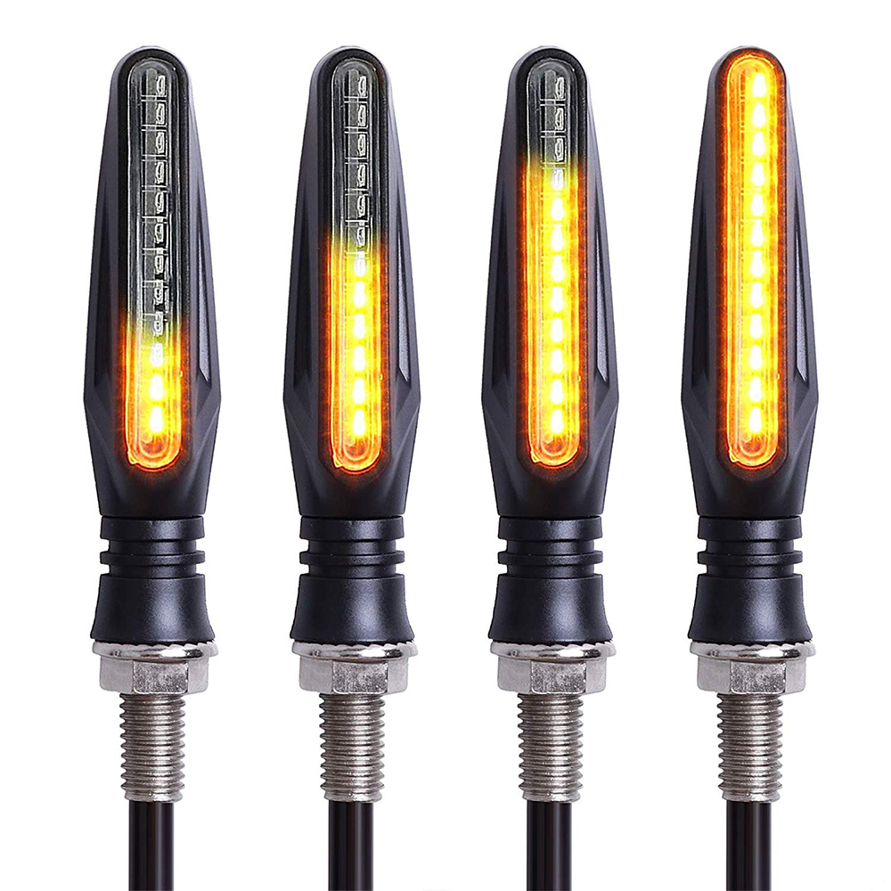 4Pcs 12V Amber <font><b>Led</b></font> Motorcycle Turn Signal <font><b>Light</b></font> Flasher Indicator Blinker For <font><b>Yamaha</b></font> mt 07 fz6 r3 mt 09 r6 nmax xj6 yzf <font><b>r1</b></font> fz image