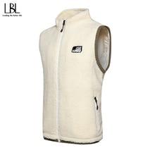 Vest Men Sleeveless Jacket Clothing Coats Warm Autumn Plus-Size Winter Casual Stylish