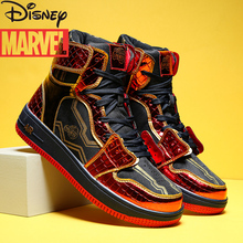 Marvel Venom Co-branded Limited Edition Spider-Man Iron Man High-Top Men's Shoes Trend All-match Sneakers