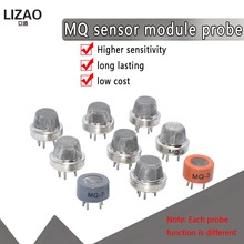 MQ Series Sensor s MQ135 MQ2 MQ3 MQ5 MQ7 Обнаружение искусственных датчиков