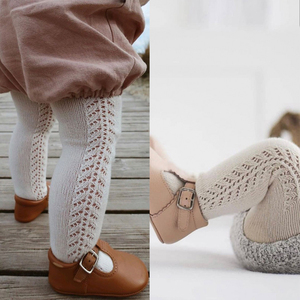 2020 Spanish Tights For Girls Hollow Toddler Pantyhose Baby Stockings Autumn Bottom Girl Clothing