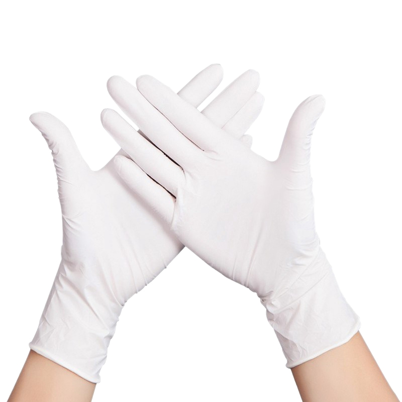 300PCS Thickness Disposable Nitrile Gloves Work Glove Food Prep Cooking Gloves Kitchen Food Service Cleaning Gloves Safety