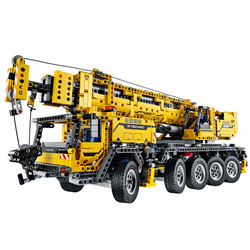 90004 2606pcs Science And Technology Of Engineering Column Crane Motor-driven Oxyphylla Assembling Legoinglys Toys 20004
