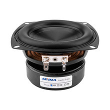 AIYIMA-altavoz de Audio de 4 pulgadas y 100W, controlador de altavoz de graves pesados, Hifi, música, Subwoofer, para cine en casa, 4ohm, 8Ohm, 1 ud.