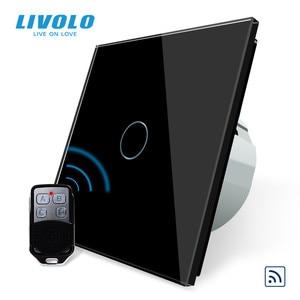 Image 2 - Livolo EU Standard Remote Switch, AC 220~250V Wall Light Remote Touch Switch With Mini Remote Controller C701R 11 RT12,no logo