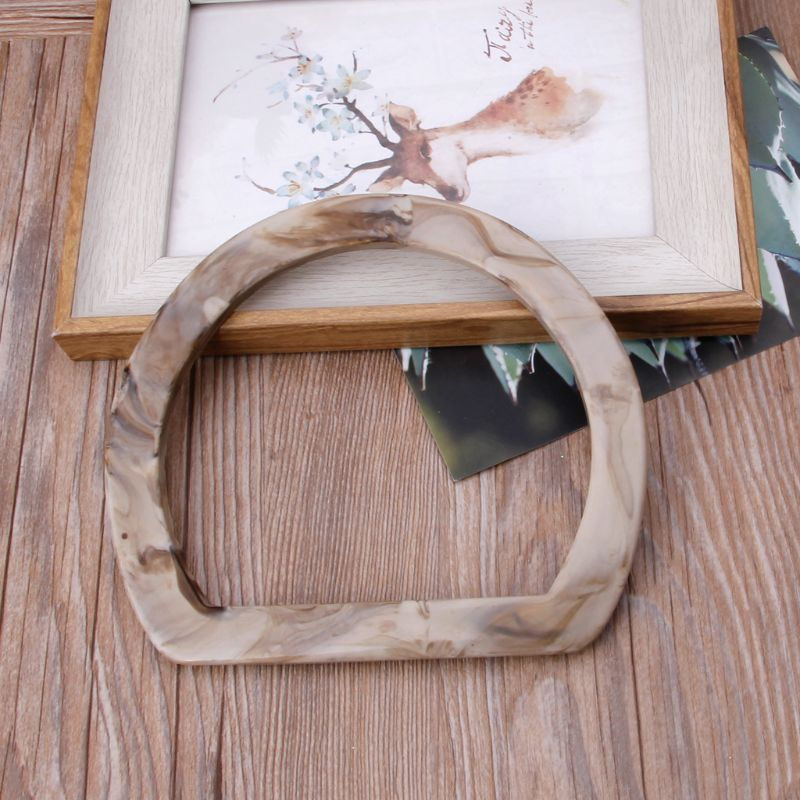 Resin Bag Handle For Handcrafted Handbag Purse DIY Bags Accessories New Fashion Bag Handles