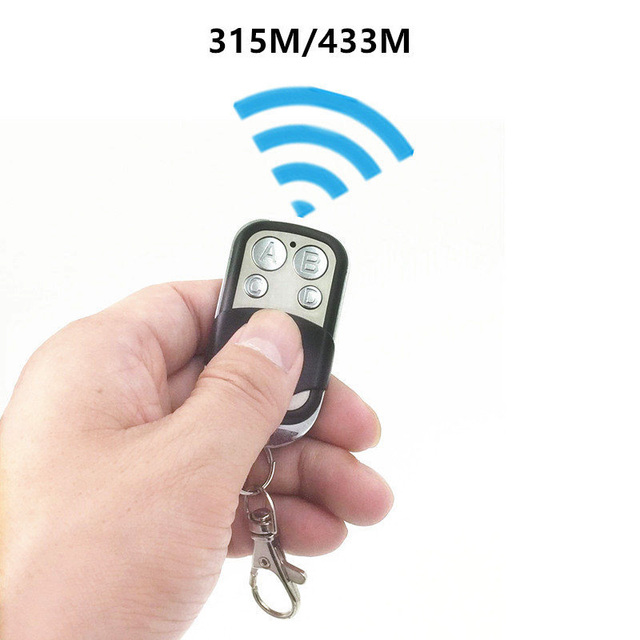 Blue Light 433.92MHZ Copy Remote Controller Metal Clone Remotes Auto Copy Duplicator For Gadgets Car Home Garage door 1