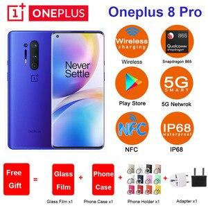 Глобальная ROM Oneplus 8 pro 5G мобильный телефон 6,78
