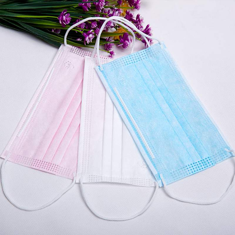 50PCS/box  Disposable Masks To Prevent Haze Dustand Dust Fashion Meltblown Cloth Polypropylene Mouth Face Mask Mouth Mask
