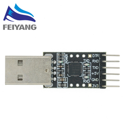1pcs CP2102 USB 2.0 to TTL UART Module 6Pin Serial Converter STC Replace FT232