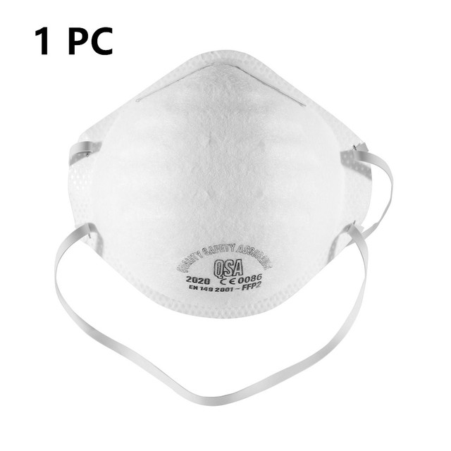 1PC/10PCS In Stock Disposable CE Certificate Mouth Face Mask Dust Protective Mask Anti flu Expedited delivery 2