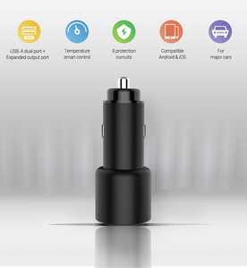Image 2 - Car Charger PD Quick Charge 3.0 Fast Charging Dual USB Port 36W Phone Charger Laptop For iPhone Samsung Xiaomi USB C Car charger