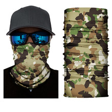 Army Tactical Fishing Face Mask Scarf Polyester Windproof Winter Head and Neck Warmer Headweara Ice Fishing Clothes Accessories