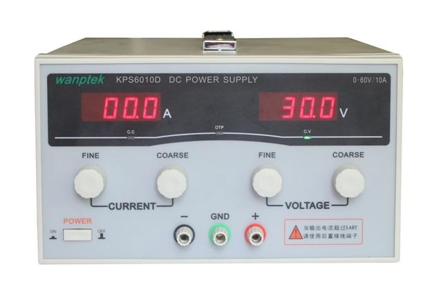 KPS6010D 6020D 6030D High Precision High Power Adjustable LED Dual Display Switching DC Power Supply 220V EU 60V 10A 20A 30A KPS