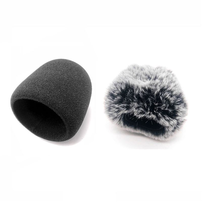 Furry foam black