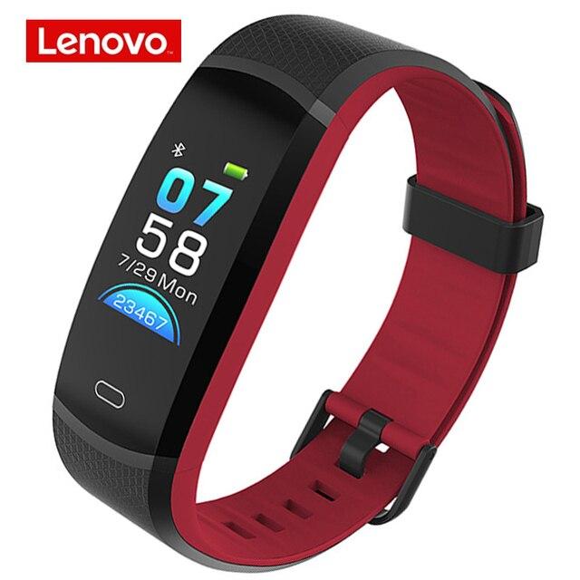Lenovo Band HX11 สมาร์ทสร้อยข้อมือ Heart Rate หน้าจอสีกีฬาสมาร์ทสภาพอากาศสมาร์ทเตือน SmartBand
