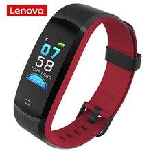 Pulsera inteligente Lenovo HX11, reloj inteligente deportivo con pantalla a Color, control del ritmo cardíaco y pantalla del tiempo