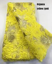 Afrika dantel kumaş 2019 yüksek kalite işlemeli brokar dantel fransız tül dantel kumaş nijerya parti elbise COP 003