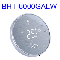 1 Pcs Of WiFi Smart Thermostat Touch Screen Thermostat For Water/Electric/Gas Boiler Heating