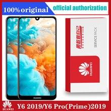 Pantalla LCD Original para Huawei Y6 2019/ Y6 Pro 2019/ Y6 Prime 2019, digitalizador táctil con Marco, piezas táctiles