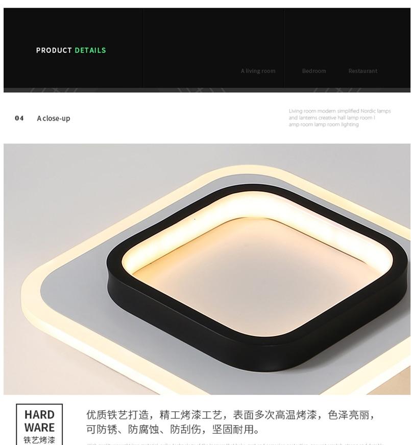 H8b8763e4f22a44ce927995dbb3b4ca0d5 LICAN Modern LED Ceiling Lights for bedroom bedside Aisle corridor balcony Entrance Modern LED Ceiling Lamp for home
