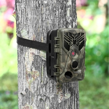 16MP 1080P Trail Camera Hunting Game Camera Outdoor Wildlife Scouting Camera with PIR Sensor Infrared 0.3S Super Fast Trigger