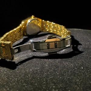 Image 5 - MISSFOX topos relógios femininos de luxo marca ouro bling diamante relógios femininos melhor venda senhoras à prova dwaterproof água relógio com caixa de presente