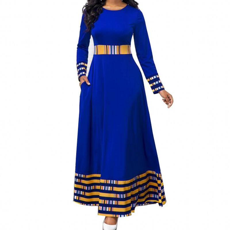 S-5XL Plus Size African Dresses For Women African Clothes Africa Dress Print Dashiki Ladies Clothing Ankara Africa Women Dress