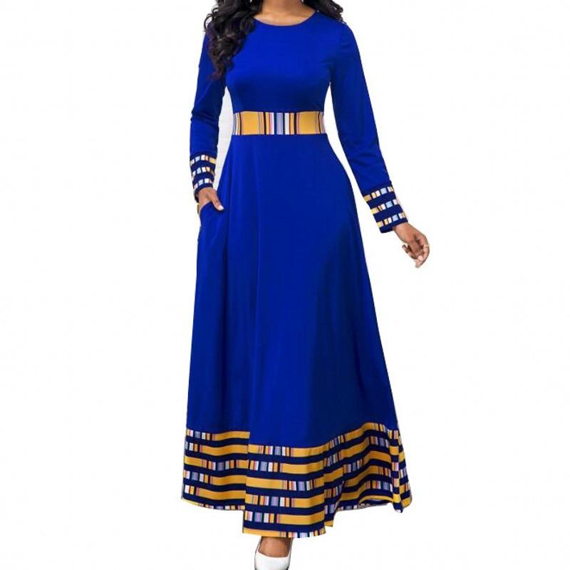 S-5XL Plus Size African Dresses For Women African Clothes Africa Dress Print Dashiki Ladies Clothing Ankara Africa Women Dress