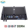 Teilhaftig Fanless Industrie Mini PC Intel i7 10510U i7 8565U i5 8265U 2 * DDR4 Msata + M.2 PCIE Mini PC Windows 10 HTPC Nuc VGA HDMI
