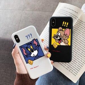 Cover On For Xiaomi Mi Redmi 10X Note 9S 9 S 8T 8 7 5 6 K20 K30 Pro Max 10 Lite SE Pocophone F2 Pro F1 Cartoon Cat Silicone Case