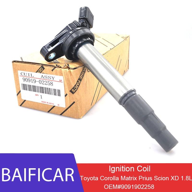 Новый оригинальный 1 шт. катушка зажигания Baificar 9091902258 90919-02258 для Toyota Corolla Matrix Prius Scion XD 1.8L