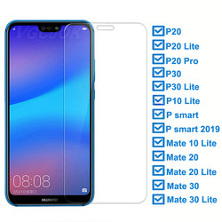 На Алиэкспресс купить стекло для смартфона 9h hardness tempered glass for huawei p30 lite p20 pro p smart 2019 screen protector protective for huawei mate 10 20 glass film