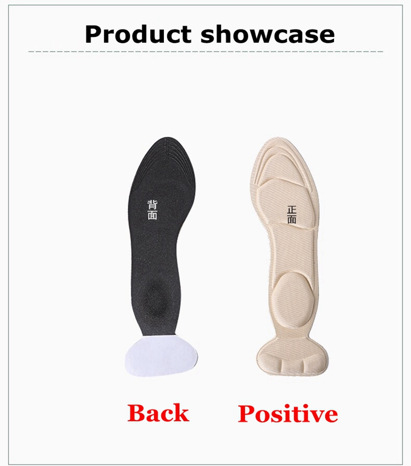 Orthopedic insoles Ladies high heel insole Breathable Anti-slip Outdoor Sports Leisure Foot Care Tool Inserts & Cushions