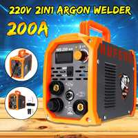2IN1 200A Handheld Mini MMA IGBT Inverter 220V Portable Mini Electric ARC Welding TIG/STICK Argon Welder Inverter Machine Tools