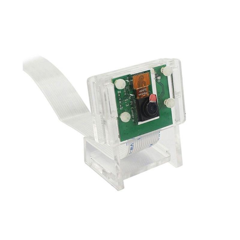 1Set Acrylic 5MP Camera Holder Bracket For Raspberry Pi 1-4 V2 Official Camera E65A