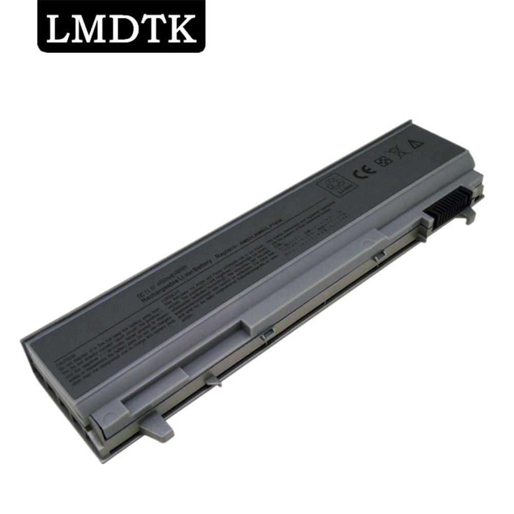 LMDTK New Laptop Battery For Dell Latitude E6400 E6410 E6500 E6510 E8400 PT434 PT435 PT436 PT437 NM633 Free Shipping 6 CELLS