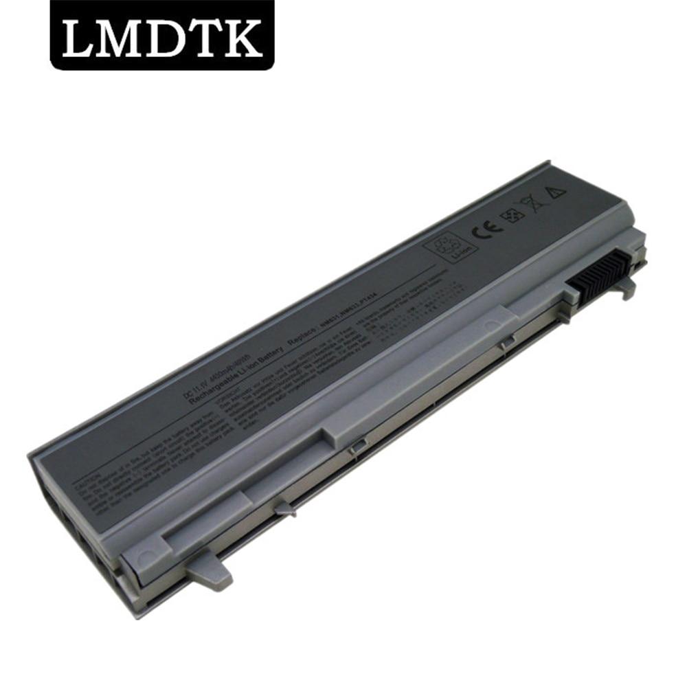 LMDTK New Laptop Battery For Dell Latitude E6400 E6410 E6500 E6510 E8400 PT434 PT435 PT436 PT437 NM633 Free shipping 6 CELLS
