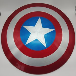 Image 3 - 75TH America Cosplay Props Adult Shield 1:1 Replica+Adjustable Strap