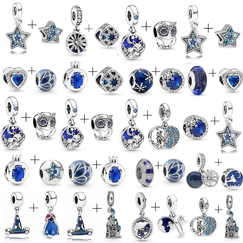 Meilleure Qualité Bijoux Cristal Goujons Zircon Boucles d/'oreilles plaqué argent lune et étoile